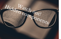 Watch out!Hidden components